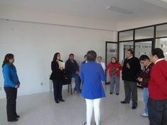 Visita del personal docente de la Facultad de Enfermería (2° grupo)