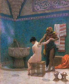 Jean Leon Gerome - The Bath