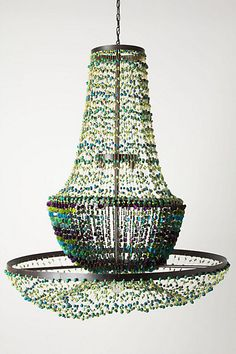 Verdeante Chandelier  #anthropologie