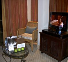 Ambassador welcome-amenities