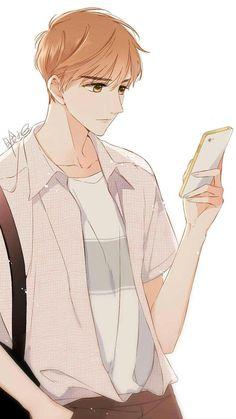Love Like Cherry Blossoms- Xia yi Boys Anime, Cool Anime Guys, Handsome Anime Guys, Anime Chibi, Manga Anime, Cherry Blossom Art, Anime Couples Drawings, Anime Love Couple, Manga Love