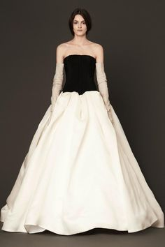 76a57dfffb3 Vera Wang gowns are sold at The Bridal Salon at Saks Jandel.