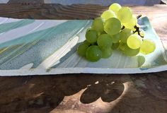 Grapes from my garden on stone were plate. My Works, Plates, Fruit, Stone, Garden, Nature, Food, Licence Plates, Dishes