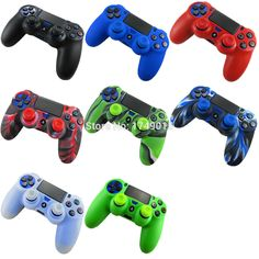 2 in 1 Soft Silicone Rubber Case Cover For Sony Play Station Dualshock 4 PS4 Wireless Controller Skin ( 1 case + 2 grips )♦️ SMS - F A S H I O N 💢👉🏿 http://www.sms.hr/products/2-in-1-soft-silicone-rubber-case-cover-for-sony-play-station-dualshock-4-ps4-wireless-controller-skin-1-case-2-grips/ US $1.78