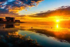 Title:Low tide sunrise; Artist Name:Claudia Mottram; Description:Beautiful low tide sunrise on Old Orchard Beach, M...; Art Form:Photography; Style:Fine Art,Photorealism; Media:Photography: Metal Print,Photography: Photographic Print,Photography: Premium Print,Photography: Stretched Canvas Print; Genre:Landscape,Seascape