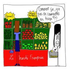 Les fruits et légumes de saison - Janvier