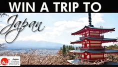 Win a trip for two to Japan! The ARV of the prize is $5,000. Enter here to win!