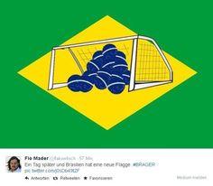 Brazil Flag / Brasilianische Flagge