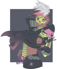 Image result for overwatch sombra comic