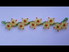 """Браслет из бисера """"Кубиком"""" 2D. Широкий/Bracelet from beads """"Cube"""" 2D. Wide - YouTube"""