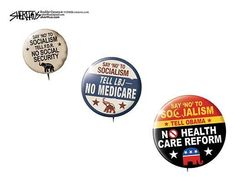 The History of the GOP in Three Buttons.
