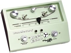 Danelectro Reel Echo.  I'll bet these sound cool.