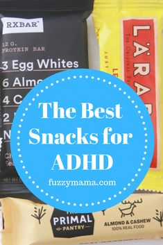 Having kids with ADHD also means that you need some great snacks to fuel their brains and keep them focused. This list, filled with high protein snacks for ADHD, serves our family with two ADHD kids really well! Low Sugar Snacks, High Protein Snacks, High Protein Recipes, Diet Snacks, Protein Foods, Protein Cake, Protein Muffins, Protein Cookies, Adhd Diet