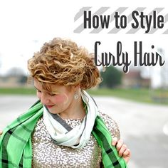 Different tips on how to keep your curly hair not frizzy and healthy curly by Stacie Stacie Stacie, via Flickr