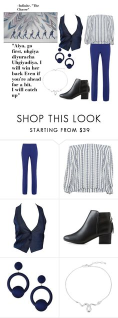 """Infinite ""The Chaser"" Chic"" by nereidanelyc on Polyvore featuring Victoria, Victoria Beckham, Zizzi, Romeo Gigli, City Classified and Rebecca de Ravenel"