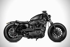 Custom bike builders Rough Crafts have released a masterfully done custom Harley Forty-Eight motorcycle. The beast was produced as a collaborative effort between Rough Crafts' Winston Yeh and Shaw Speed's Steve Willis.