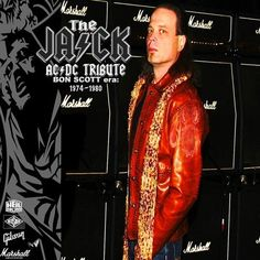"The JACK ∞ BON SCOTT era AC/DC Tribute ""The Jack"" Produced by Polaris Stanley.  A live performance of some Classic AC/DC performed by my BON SCOTT era AC/DC Tribute act, THE JACK."