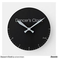 Shop Dancer's Clock created by univercitizen. Dancer, Clock, Indoor, Display, Artwork, Prints, Watch, Interior, Floor Space