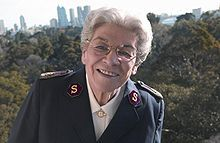 Eva Evelyn Burrows was the 13th General of The Salvation Army from 1986 to 1993. She was the second #women General!