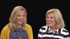 Emi Dalton Edgley And Elaine S. Dalton at BYU Women's conference:  The Power of God in Great Glory.  There is power and peace in making and keeping covenants with God.