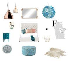 """Untitled #6"" by nikolalazanska on Polyvore featuring interior, interiors, interior design, home, home decor, interior decorating, Ballard Designs, Billabong, East at Main and Sir/Madam"