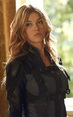 "Agent Bobbi Morse a.k.a. Mockingbird played by Adrianne Palicki. Introduced in season two of ABC's ""Agents of S.H.I.E.L.D."""