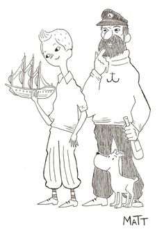 So I saw the Tintin film the other day. It wasn't perfect, but still very enjoyable. Now I want to go reread the books.