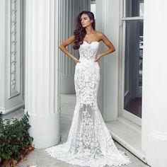 Double-tap if you love @kleinfeldbridal stunning selection like @nektariaworld's Senorita gown! #Kleinfeld