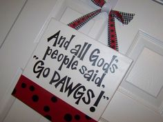 And All God's People Said... Handpainted by GreenPearlPaintshop