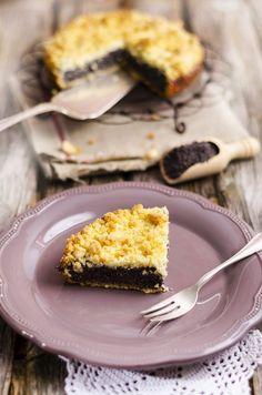 Tarta z makiem Polish Recipes, Polish Food, Macarons, Cupcake Cakes, Cupcakes, French Toast, Food And Drink, Xmas, Sweets