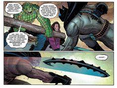 See, I'm thicker-skinned than my friends. #TwoFace #HarveyDent #KillerCroc #WaylonJones #AllStarBatman #BatmanRebirth #DCRebirth #DCUniverseRebirth #BatmanNew52 #Batman #BatmanComics #DC #DCComics #PrimeEarth #Comics #DCU #DCUniverse #TheDarkKnight #Vigilante #BobKane #BruceWayne #GothamCity #TheNew52 #New52 #MyOwnWorstEnemy #NewJersey #ScottSnyder #JohnRomita #JohnRomitaJr #ComicsDune