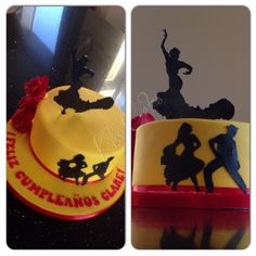 Spanish Flamenco Cake