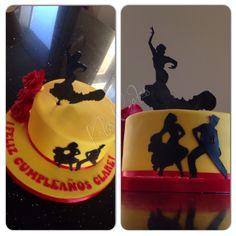 Spanish Flamenco Cake