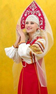 русский костюм / Russian folk costume