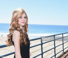 Actress Katherine McNamara attends the event for MTV's 'Happyland' at Pacific Park on the Santa Monica Pier on September 24, 2014 in Santa Monica, California.
