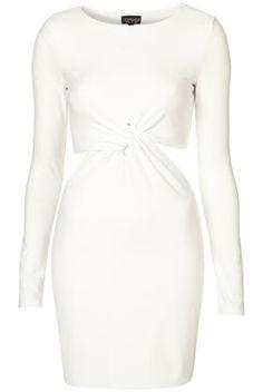 Topshop Twist Bodycon Dress <3 vegas