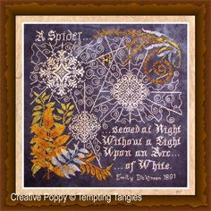 <b>Arc of White</b><br>cross stitch pattern<br>by <b>Tempting Tangles</b>