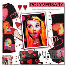 """Celebrate Our 10th Polyversary!"" by valentina1 ❤ liked on Polyvore featuring Kate Spade, Boutique Moschino, Charbonnel et Walker, polyversary and contestentry"