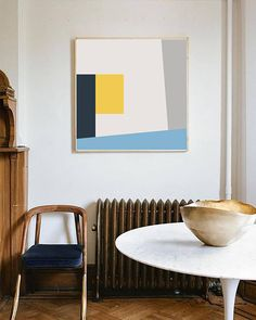Abstract Mid Century