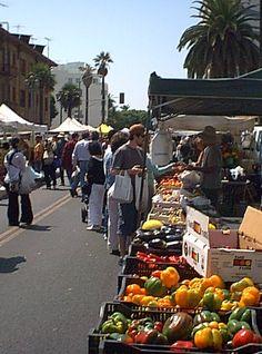 Santa Monica Farmers Market- wednedays (chefs shop that day)