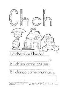 abecedario letras ch