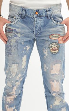 Looking for Men's Designer Jeans? Cipo & Baxx has the latest styles of Men's Ripped Jeans in Australia. Shop now on our online store! Ripped Jeans, Jeans Pants, Denim Shorts, Laid Back Style, Edgy Look, Going Out, Shop Now, How To Wear, Shopping