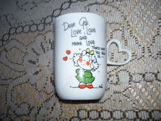 Dear God Kids Coffee Mug by Enesco