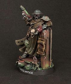 Necromunda Gangs, Rogue Traders, Warhammer 40k Miniatures, Mini Paintings, Warhammer 40000, Miniture Things, Model Building, Figure Painting, Minis