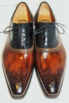 Ivan Crivellaro - Design Inc. Fly Shoes, Men's Shoes, Mens Shoes Boots, Shoe Boots, Gentleman Shoes, Komplette Outfits, Mens Fashion Shoes, Dream Shoes, Formal Shoes