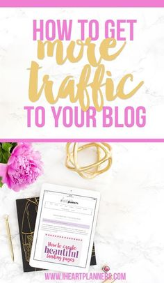 I am going to share a specific way to get more eyes on your blog at the end of this post, but if you're struggling to get lots of blog traffic, I've got some things for you to think about and some Pinterest suggestions including a FREE class.