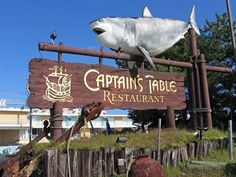 The old Captain's Table Restaurant Wildwood Crest, NJ. We would eat here once or twice during the season for our fancy nights out. :)