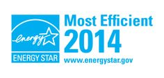 The ENERGY STAR Most Efficient 2014 designation recognizes the most efficient products among those that qualify for the ENERGY STAR. These exceptional products represent the leading edge in energy efficient products this year. For a list of products recognized as Most Efficient 2014 visit: www.energystar.gov/mostefficient