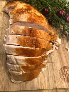 easiest and most efficient way to roast a turkey, it is slow roasted. turkey cooks in half the time as usual, thanksgiving turkey. Thanksgiving Recipes, Holiday Recipes, Holiday Foods, Winter Recipes, Slow Roasted Turkey, Best Turkey, Holiday Side Dishes, Leftovers Recipes, Best Chicken Recipes