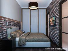 Картинки по запросу спальня в стиле лофт